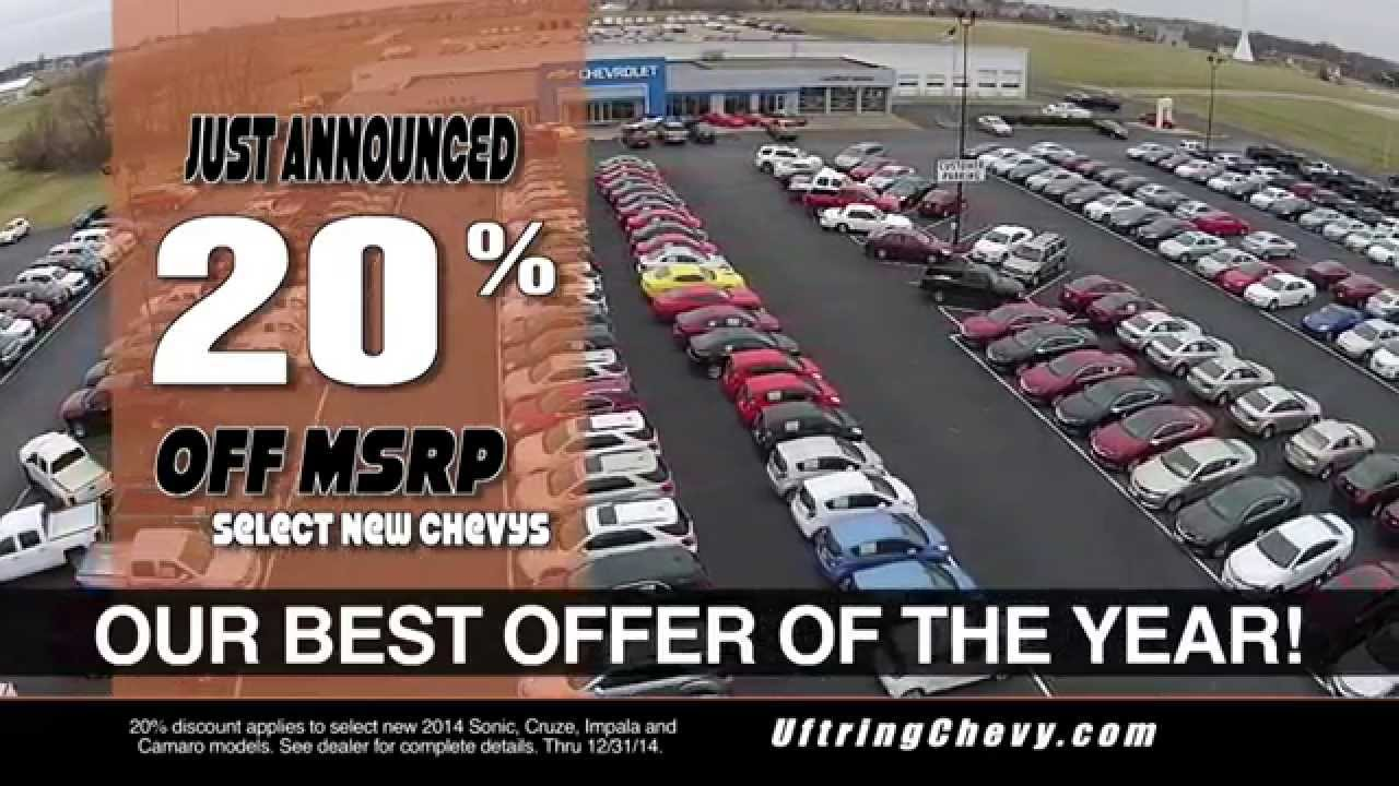 Uftring Chevrolet - 20% Off New Chevys - Peoria IL Chevy ...