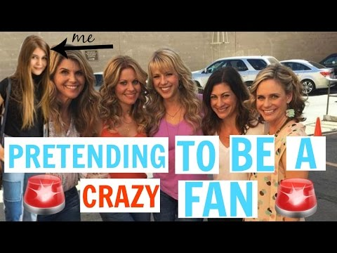 PRETENDING TO BE AN INSANE FULL HOUSE FAN + LIVE FOOTAGE : story time