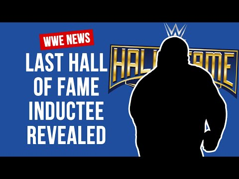 And The Final Wrestler In WWE 2018 Hall Of Fame Is...