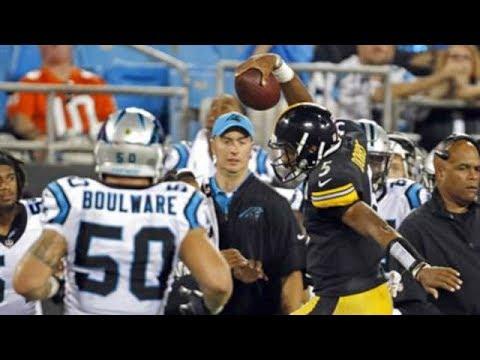 Joshua Dobbs vs Panthers (Preseason Week 4) - 221 Yards + 2 TDs! Clutch! | 2017-18 NFL Highlights HD