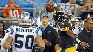 Joshua Dobbs vs Panthers (Preseason Week 4) - 221 Yards + 2 TDs! Clutch! | 2017-18 NFL Highlights HD