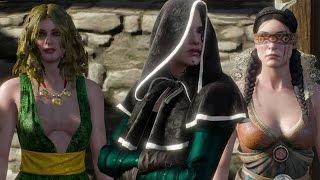 ウィッチャー3 最終決戦直前に女魔術師たちが下したゲラルトの評価 The Witcher 3 JP.ver