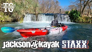 Jackson Staxx Kayak On Water Overview