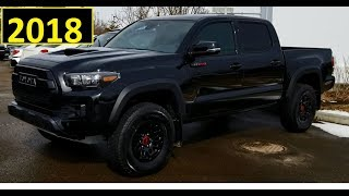 2018 Toyota Tacoma TRD Pro in Black review of features in HD