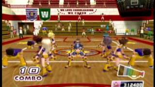 We Cheer 2 (Wii) - Squad Challenge 1 (Beginner)