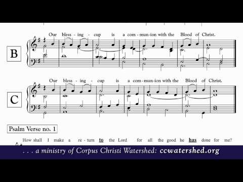 Chabanel Psalms • A Cappella • Psalms in English - YouTube