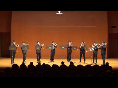 A Song For Japan for Trombone Octet  Steven Verhelst