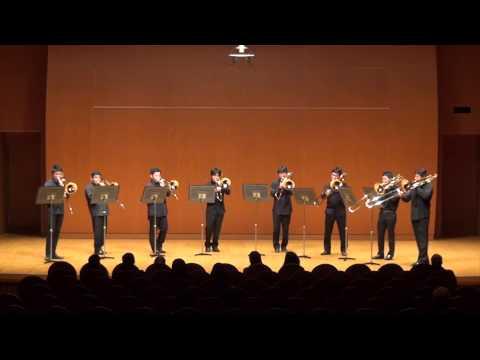 A Song For Japan for Trombone Octet / Steven Verhelst