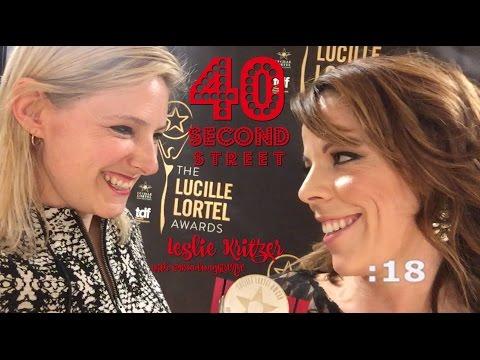 40 Second Street - LESLIE KRITZER wins the Lortel Award!