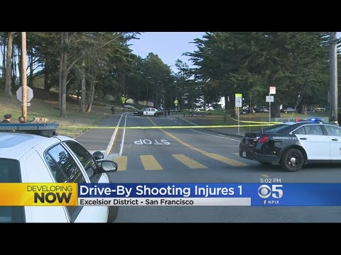 Police Investigate Shooting In San Francisco's McLaren Park
