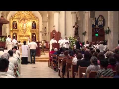 Chrism Mass San Fernando 2016