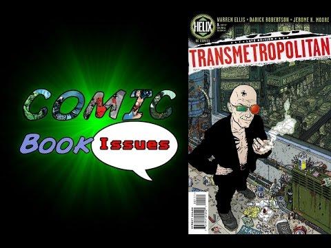 Comic Book Issues - Transmetropolitan 1 - 3