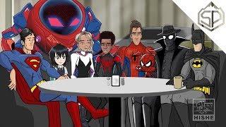 """Как должен был закончиться """"Человек-паук: Через вселенные"""""""