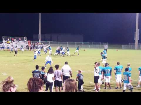 Blake Lee 3 touchdown Pine Ridge High School Football JV 2016
