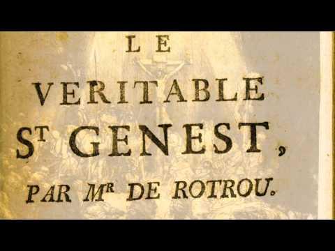 Jean de ROTROU - Le Véritable Saint Genest : adaptation radiophonique (France Culture, 1971)