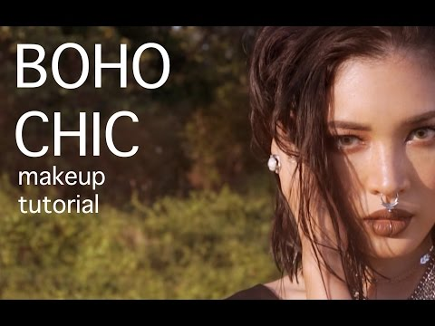 Boho chic makeup tutorial - Susy SAI