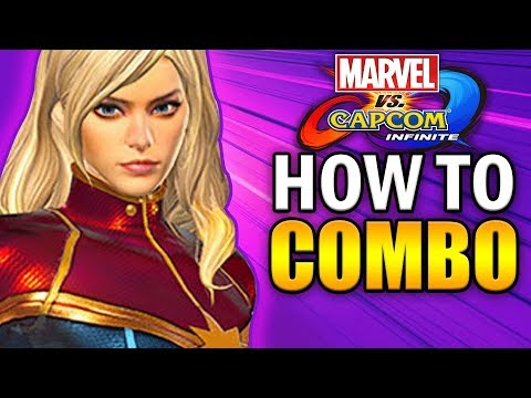 CAPTAIN MARVEL Combo Guide - Marvel vs Capcom Infinite - Basic to Advanced!