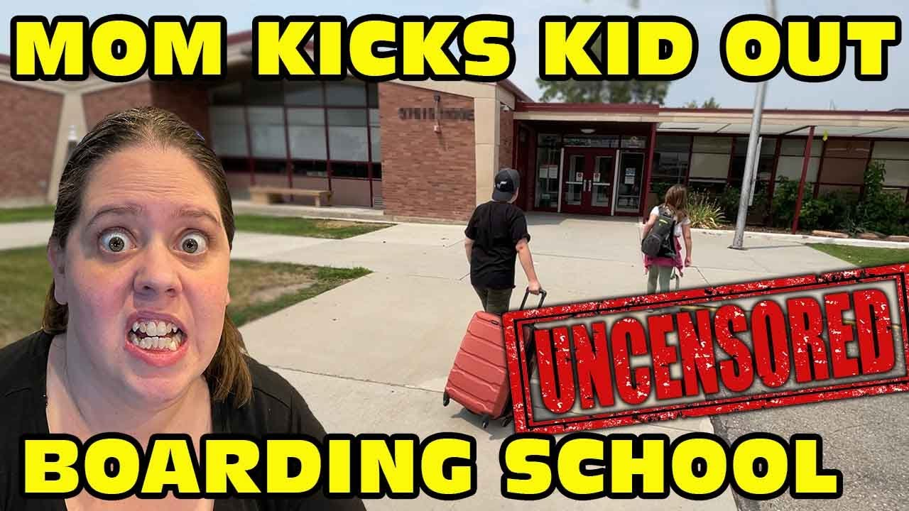 Kid Steals A Vehicle And Then Has To Go To Boarding School!- [ Uncensored Version ]