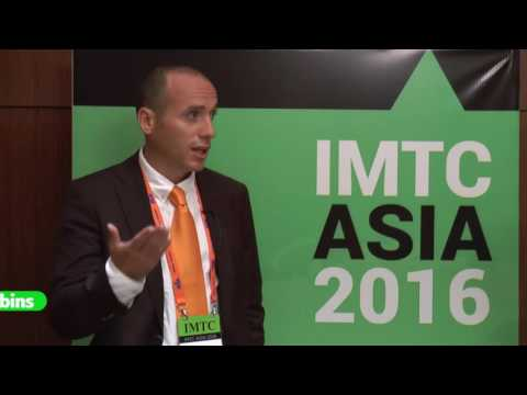 Sebastián Plubins  from  Ria Money Transfer - interview at IMTC ASIA 2016