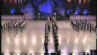 Exibição de banda militar - Um espect�...