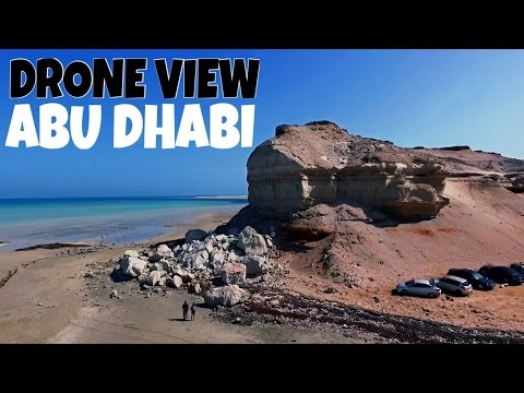 Secret Camp Sites | DJI Phantom 4k | Abu Dhabi