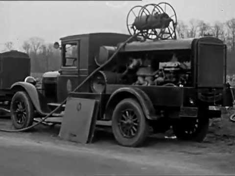 Laying of Water Pipe Line circa 1930 - CharlieDeanArchives / Archival Footage