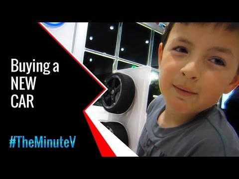 Buying a NEW Car | TheMinuteV