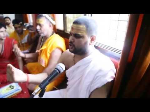 Vedic Chanting - Rudri Path by - Pawan Acharya -  Swami Kailashanand Maharaj Ji