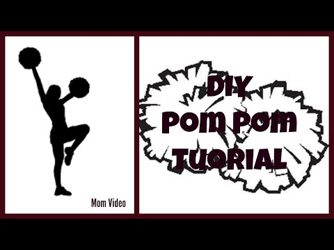 DIY Cheerleader Pom-Poms !