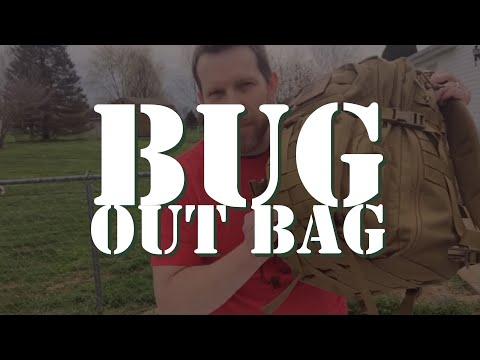 My 72 hour Bug Out Bag (Go Bag)