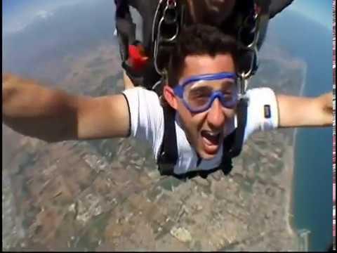 Paolo Lancio Con Il Paracadute - Fano