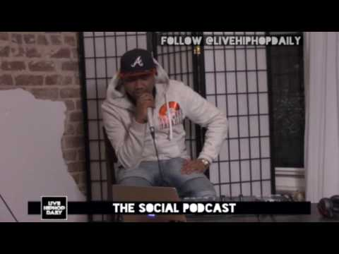 @GreyNyteLyfe talk about his vegan rap going viral | TheSocialPodcast