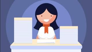 Анимационный ролик - Поздравление с Днём Главного Бухгалтера.