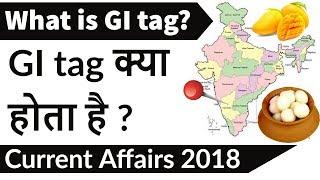 What is GI Tag? जीआई टैग क्या है? इसका उपयोग क्यो किया जाता है Current Affairs 2018