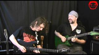 Rob Chappers & Ben Wilshire jam (Marshall MA50 Vs JVM205) part 1