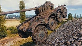 Panhard EBR 75 (FL 10) - WHEELED Light Tank - World of Tanks Gameplay