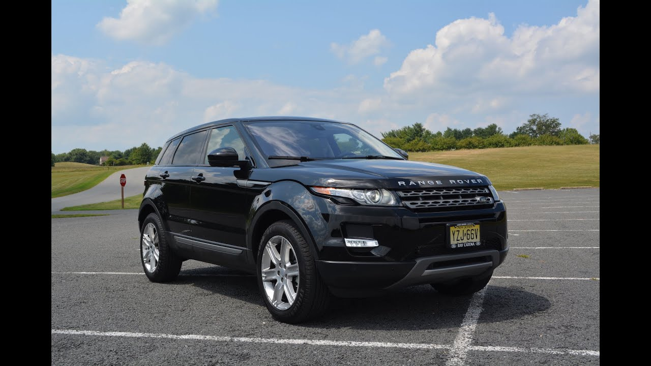 2015 range rover evoque review interior exterior in depth tour youtube. Black Bedroom Furniture Sets. Home Design Ideas