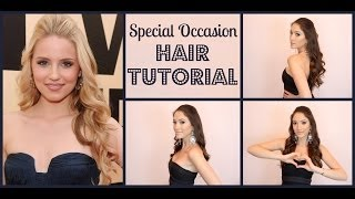 Special Occasion Hair Tutorial Inspired by Dianna Agron | Blair Fowler Thumbnail