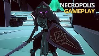 "Necropolis - ""The Dark Souls Roguelike"" (Gameplay)"