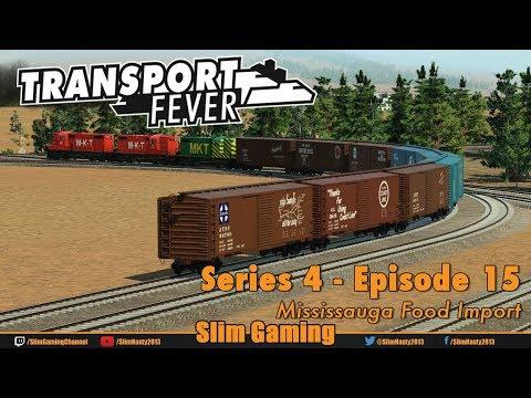 Transport Fever - Series 4 Episode 15 - Mississauga Food Import