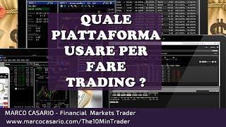 Quale Piattaforma per fare Trading? Scegli tra questi software