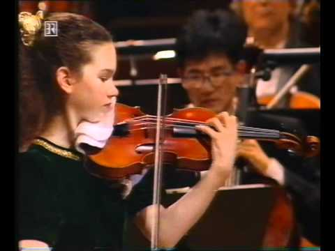 Hilary Hahn: Beethoven Violin Concerto (2/5) Larghetto