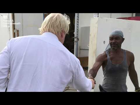 Boris Johnson visits Anguilla