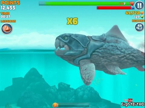 Hungry Shark Evolution Big Daddy (Dunkleosteus)