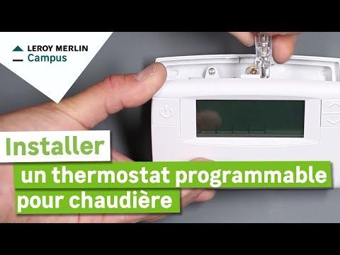 Comment Installer Un Thermostat Programmable Pour Chaudière