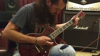 ESP LTD Deluxe EC-1000 See-Thru Black Cherry - VIDEO DEMO -
