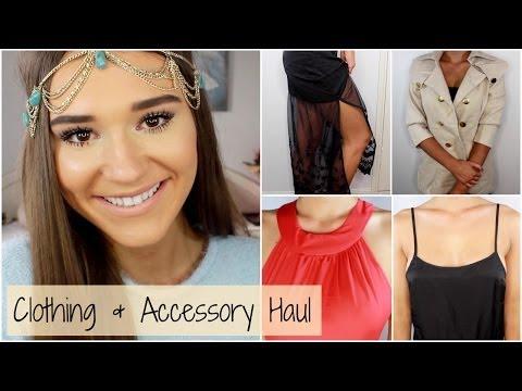 HUGE Clothing & Accessory Haul   Shanigrimmond ♡