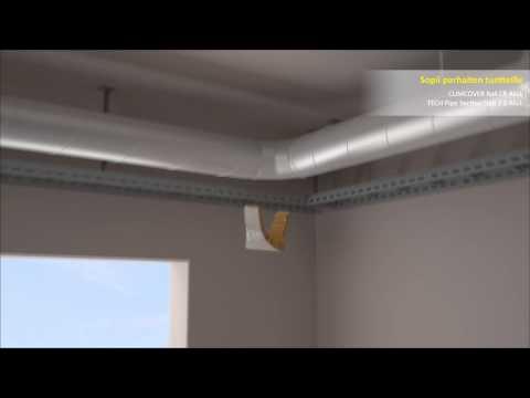 Теплоизоляция вентиляционного канала