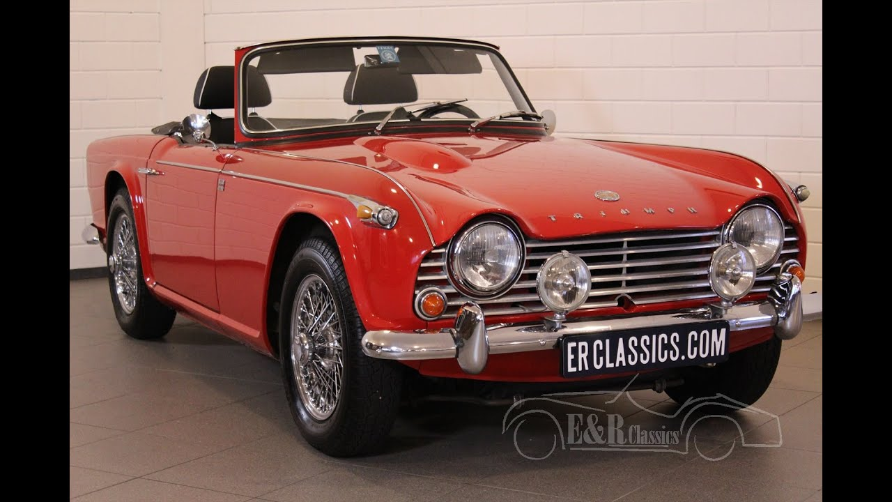 Triumph Tr4a Irs Very Good Condition Luxury Seats Video Www