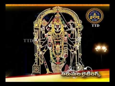 SVBC TTD -Brahmotsavam Special Lighting